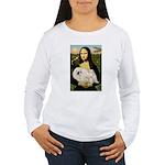 Mona /Pekingese (w) Women's Long Sleeve T-Shirt