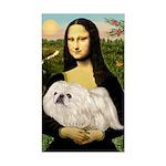 Mona /Pekingese (w) Sticker (Rectangle)