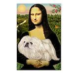 Mona /Pekingese (w) Postcards (Package of 8)
