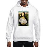 Mona /Pekingese (w) Hooded Sweatshirt