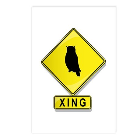 Owl XING Postcards (Package of 8)