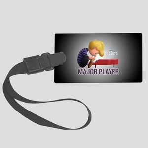 Schroeder - Major Player Full Bl Large Luggage Tag
