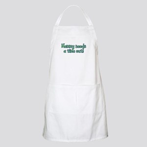 Time Out Mom BBQ Apron