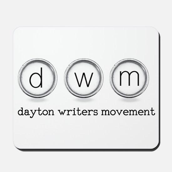 Dayton Writers Movement Mousepad