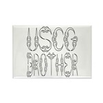 USCG Brother Rectangle Magnet (100 pack)
