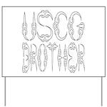 USCG Brother Yard Sign