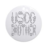 USCG Brother Ornament (Round)