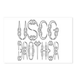 USCG Brother Postcards (Package of 8)