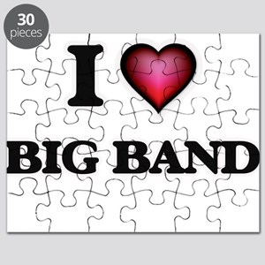 I Love BIG BAND Puzzle