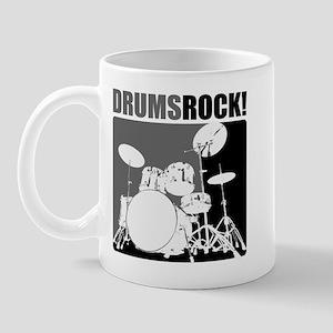 Drums Rock Mug