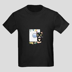 Cat with washing machine T-Shirt