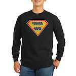 SuperJew Long Sleeve Dark T-Shirt