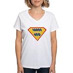 SuperJew Women's V-Neck T-Shirt