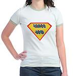 SuperJew Jr. Ringer T-Shirt