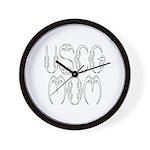 USCG Mom Wall Clock