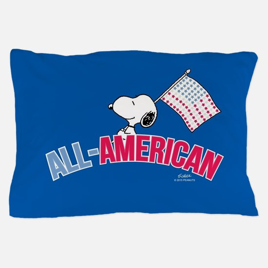 Snoopy - All American Full Bleed Pillow Case