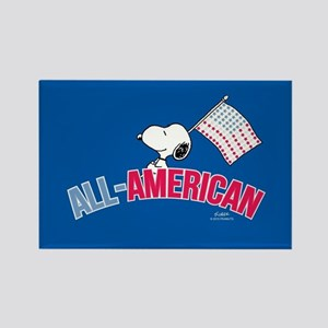 Snoopy - All American Full Bleed Magnets