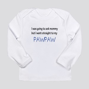 I was going to ask mommy but I Long Sleeve T-Shirt