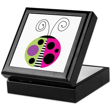 Funky Ladybug Keepsake Box