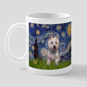 Starry - Westie (P) Mug