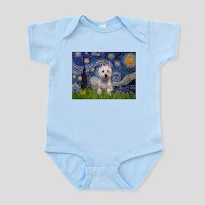 Starry - Westie (P) Infant Bodysuit