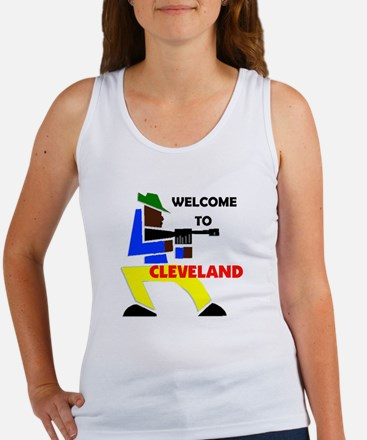 CLEVELAND WELCOME Women's Tank Top