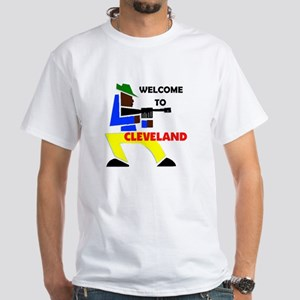 CLEVELAND WELCOME White T-Shirt