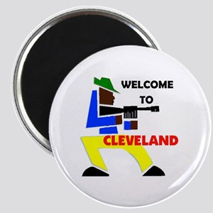 CLEVELAND WELCOME Magnet