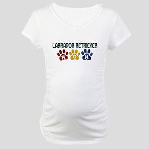 Labrador Retriever Mom 1 Maternity T-Shirt