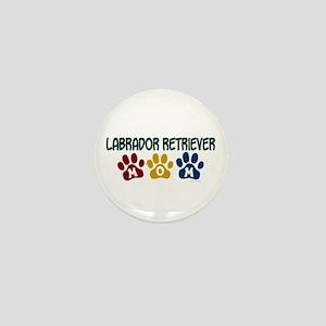 Labrador Retriever Mom 1 Mini Button