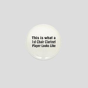 1st Chair Clarinet Mini Button