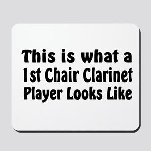 1st Chair Clarinet Mousepad