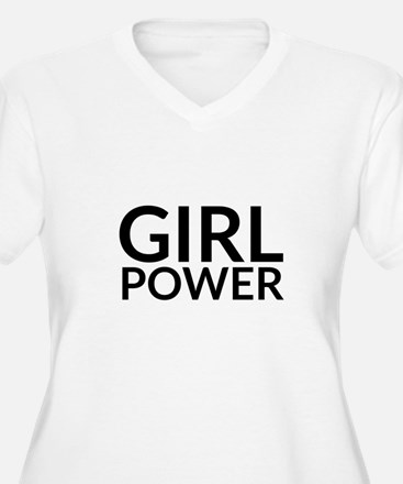 Girl Power Plus Size T-Shirt