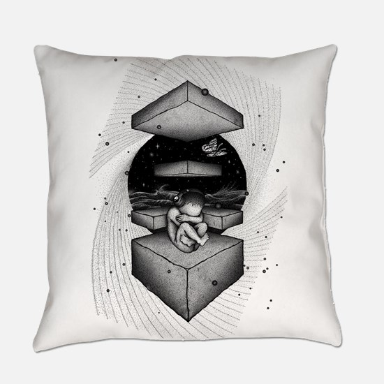 Space Baby Everyday Pillow