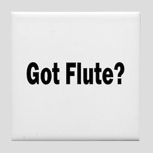 Got Flute? Tile Coaster