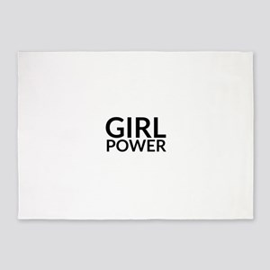 Girl Power 5'x7'Area Rug