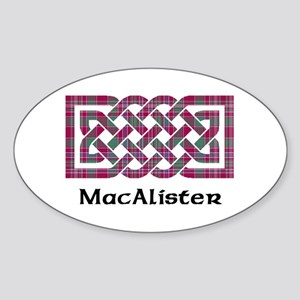 Knot - MacAlister Sticker (Oval)