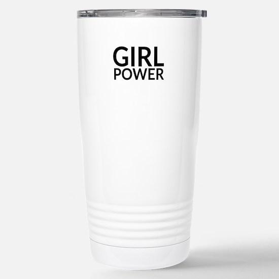Girl Power Stainless Steel Travel Mug