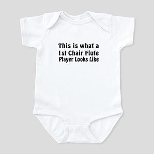 1st Chair Flute Infant Bodysuit