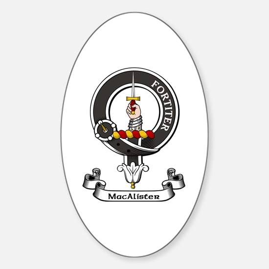 Badge - MacAlister Sticker (Oval)