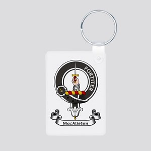 Badge - MacAlister Aluminum Photo Keychain