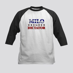 MILO for dictator Kids Baseball Jersey