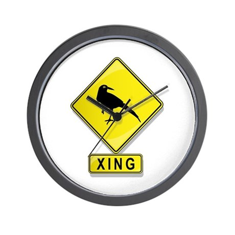 Magpie XING Wall Clock