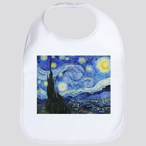 The Starry Night by Vincent Van Gogh Bib