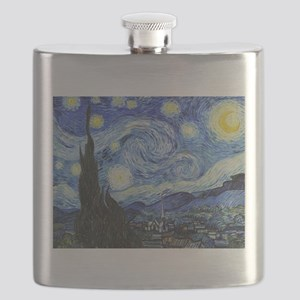 The Starry Night by Vincent Van Gogh Flask