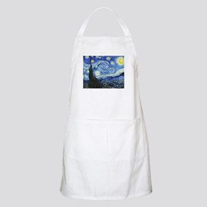 The Starry Night by Vincent Van Gogh Apron