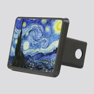 The Starry Night by Vincen Rectangular Hitch Cover
