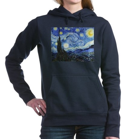The Starry Pullover Cafepress Night Hoodie Vinc di 1910504149 dSwqx5