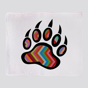 CLAW Throw Blanket
