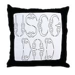 USCG Dad  Throw Pillow